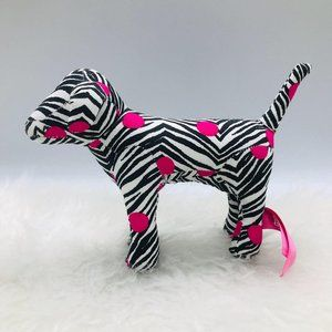 Victoria Secret Pink Dog Polka Dots Zebra Pattern
